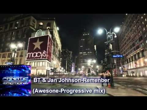 BT & Jan Johnson-Remember (Awesone-Progressive mix)Fanatic Emotions-Emotion Trance