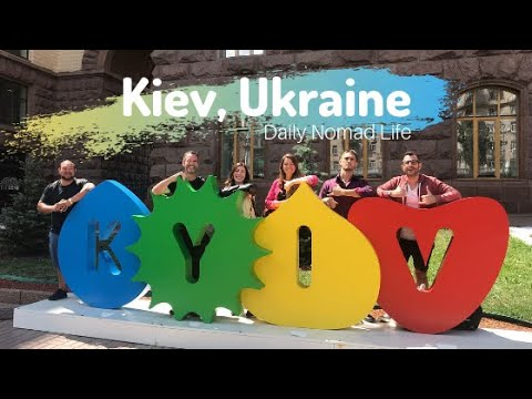 Daily Life In Kiev, Ukraine As A Digital Nomad