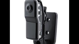 MD 80 - миниатюрный видеорегистратор, инструкция по применению как пользваться мини камерой, отзывы и подключение к телефону