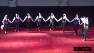 ÜNİVERSİTELER HALK OYUNLARI GRUP(Artistik) YARIŞZİANTEP 2014   Cumhuriyet Ünv (Sivas) Video