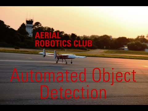 Aerial Robotics Club Automated Object Detection