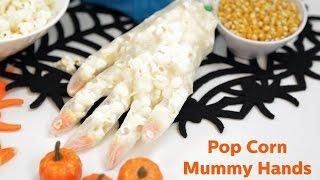Diy Popcorn Mummy Hands