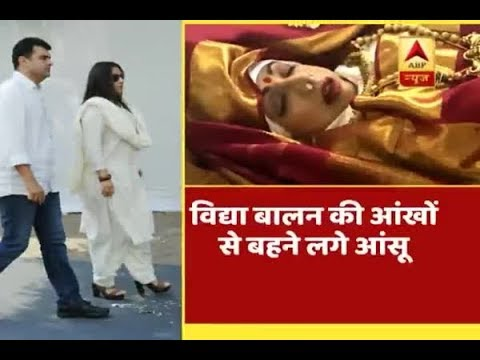 Bollywood celebrities paid tributes to actress Sridevi