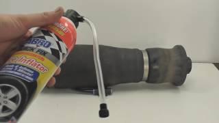 Попытка восстановить пневмобаллон от Mercedes