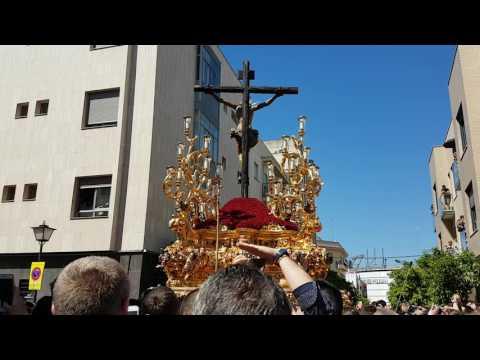 Cristo de la Sed con Señor de Nervion 2017
