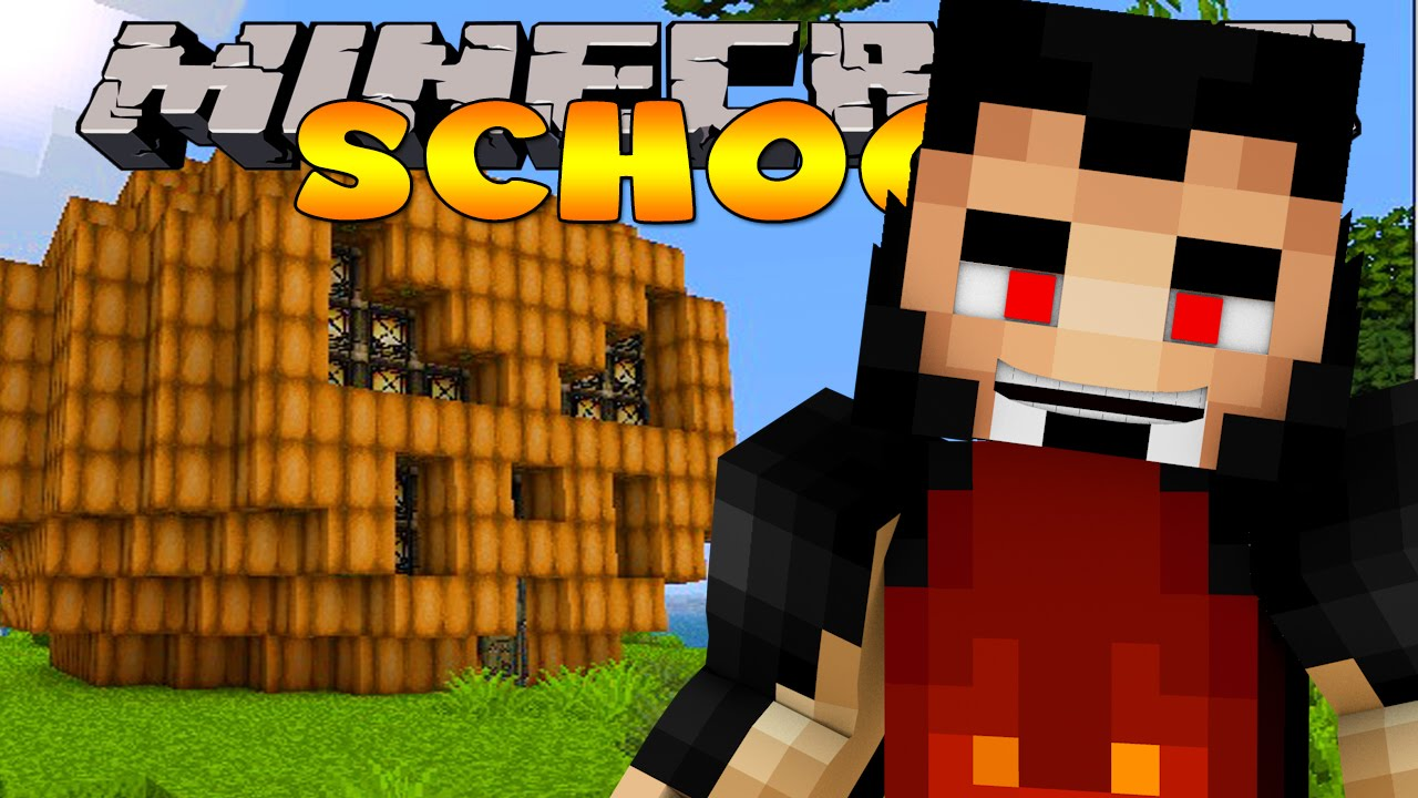 Minecraft school pumpkin carving competition funnycat tv for Crazy craft 3 0 server