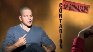 CONTAGION interview with Matt Damon - Good Will Hunting 2: Hunting Season - Jennifer Ehle
