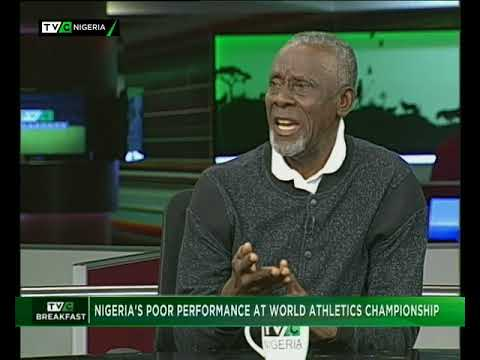 TVC Breakfast 17th August 2017 | Nigeria's poor performance at world athletics championships