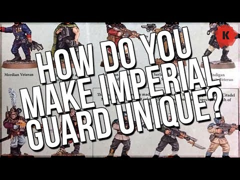 No New Imperial Guard Kits? How Do YOU Make Them Your Own?