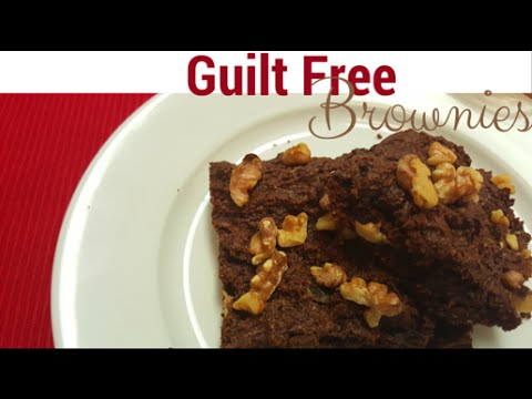 The Best Guilt Free Brownies