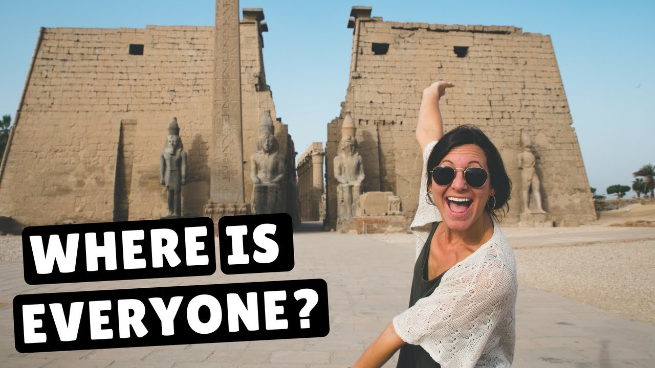 luxor temple valley of the kings egypt travel vlog youtube