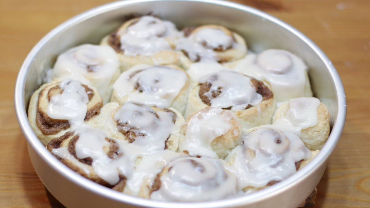Quick Cinnamon Rolls Without Yeast Recipe In The Kitchen With Matt