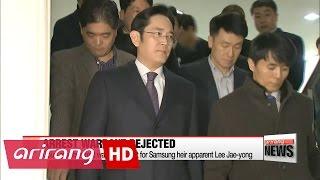 Court rejects arrest warrant sought for Samsung heir apparent Lee Jae-yong