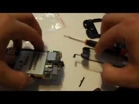 Vodafone Sonic Huawei U8650 - Disassembly & Assembly - Digitizer, Screen & Case Replacement Repair