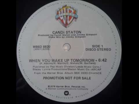 Candi Staton - When You Wake Up Tomorrow 12""