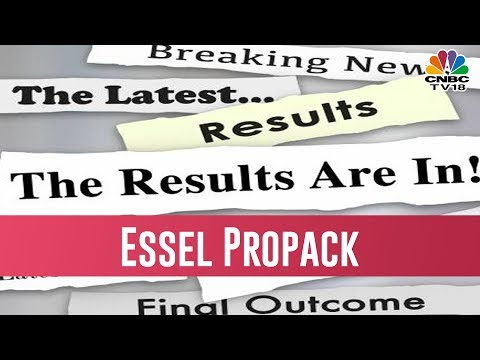 Essel Propack Q3 Report |Trading Hour| January 24, 2019