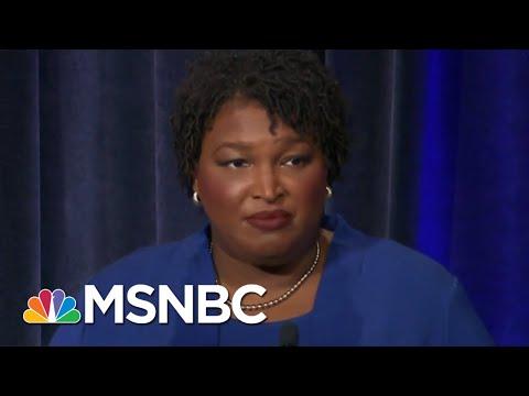 Voter Suppression Dominates Georgia Gubernatorial Debate | All In | MSNBC