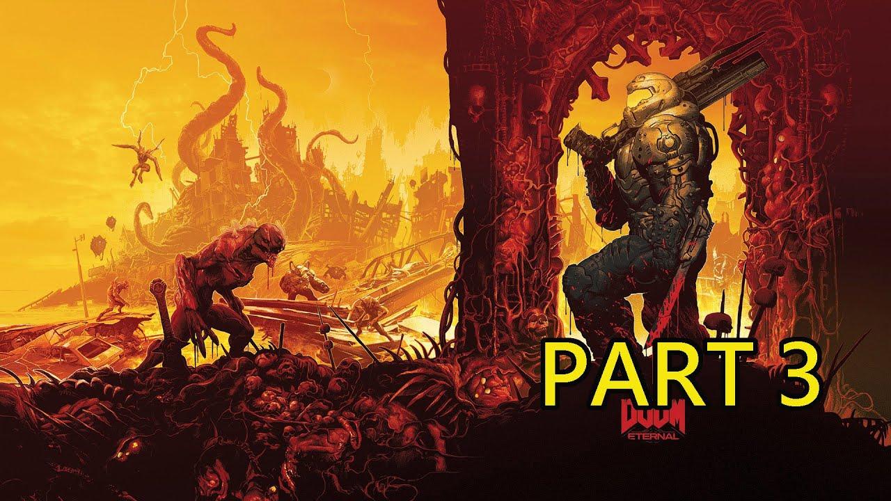 《毀滅戰士:永恆》劇情戰役 Part 3:邪教基地(英文語音 中文字幕) - YouTube