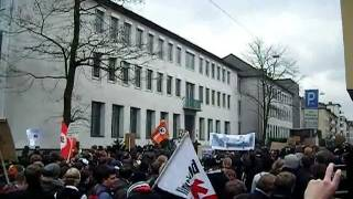 Anti ACTA Demo in Bielefeld am 25.02.2012