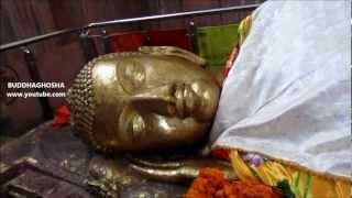 Amazing Buddha Statue in Kushinagar