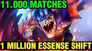 1 MILLION ESSENSE SHIFT GEM!!! - 11.000 MATCHES - 7.15 Top 1 Slark World Gameplay - Dota 2