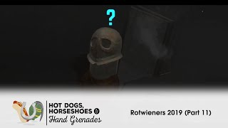 Hot Dogs, Horseshoes, & Hand Grenades (HTC Vive): Rotwieners 2019 (Part 11)