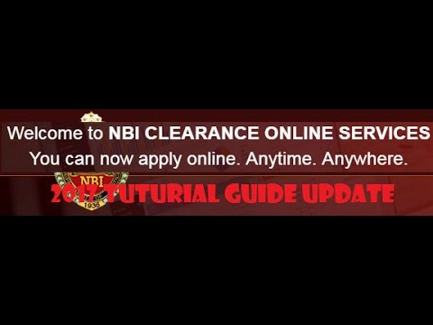 2017 UPDATES: HOW TO APPLY NBI CLEARANCE ONLINE FOR NEW APPL