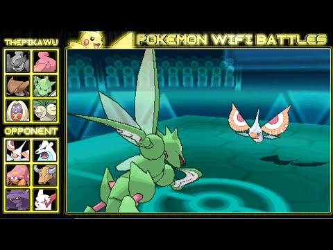 Scyther's Deadly Slashes! (Pokemon ORAS NU Wifi Battle)