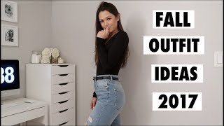 TRANSITION OUTFIT IDEAS - SUMMER TO FALL 2017 | Maggie MacDonald