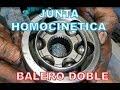 Problemas En Balero Doble Y Espiga O Junta Homocinetica Triceta Chevrolet Chevy