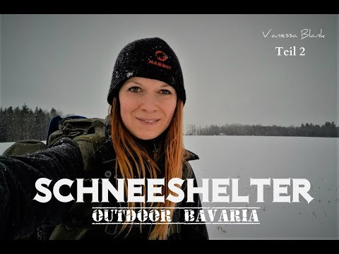 ❄️Schneeshelter - Winterbushcraft