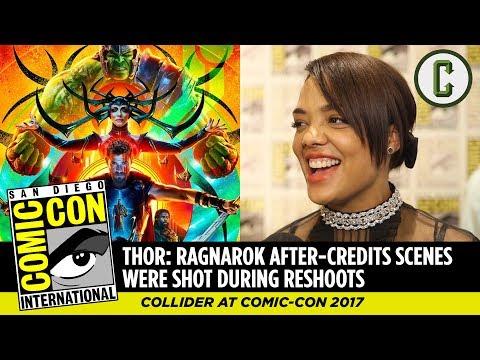 Thor: Ragnarok After-Credits Scenes Were Shot During Reshoots, Says Tessa Thompson