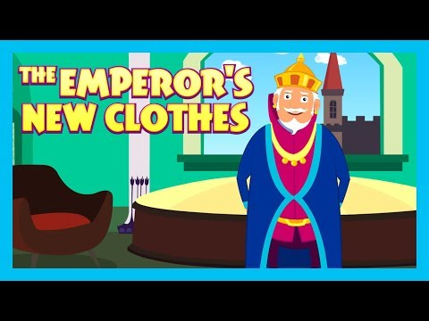 THE EMPEROR'S NEW CLOTHES - BEDTIME STORY FOR KIDS || KIDS HUT STORIES - TIA AND TOFU STORYTELLING