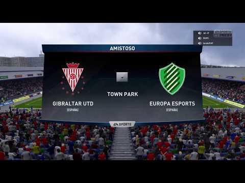 Europa FC eSports vs Gibraltar United