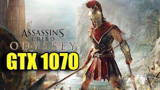 Assassins Creed Odyssey GTX 1070 & i7 6700k | 1080p Custom Settings | FRAME-RATE TEST