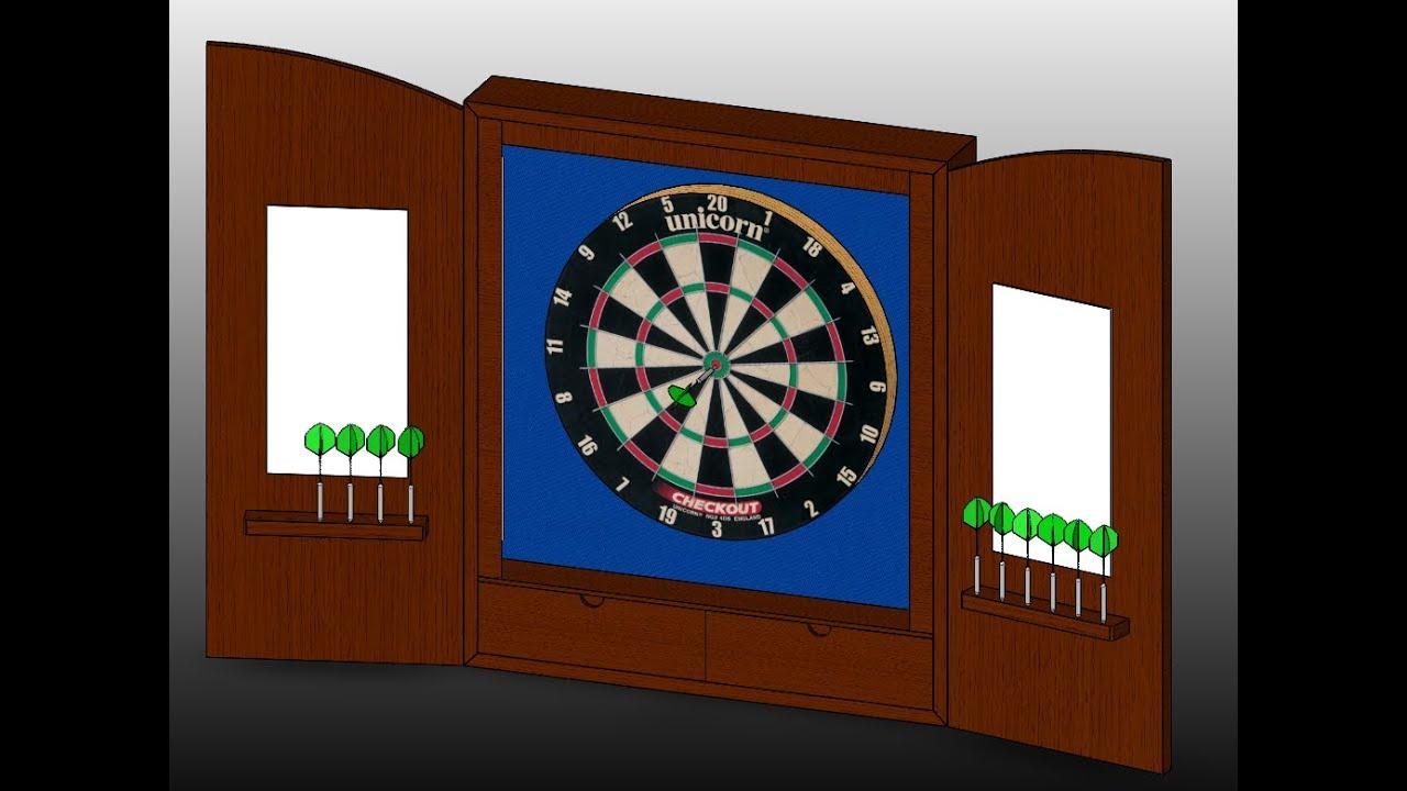Episode 2   Dart Board Cabinet: Part 1   Building The Frame