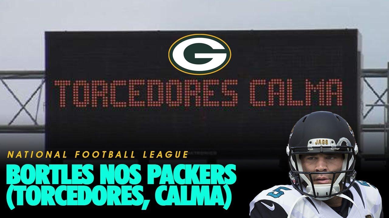 Bortles nos Packers! (torcedores calma)