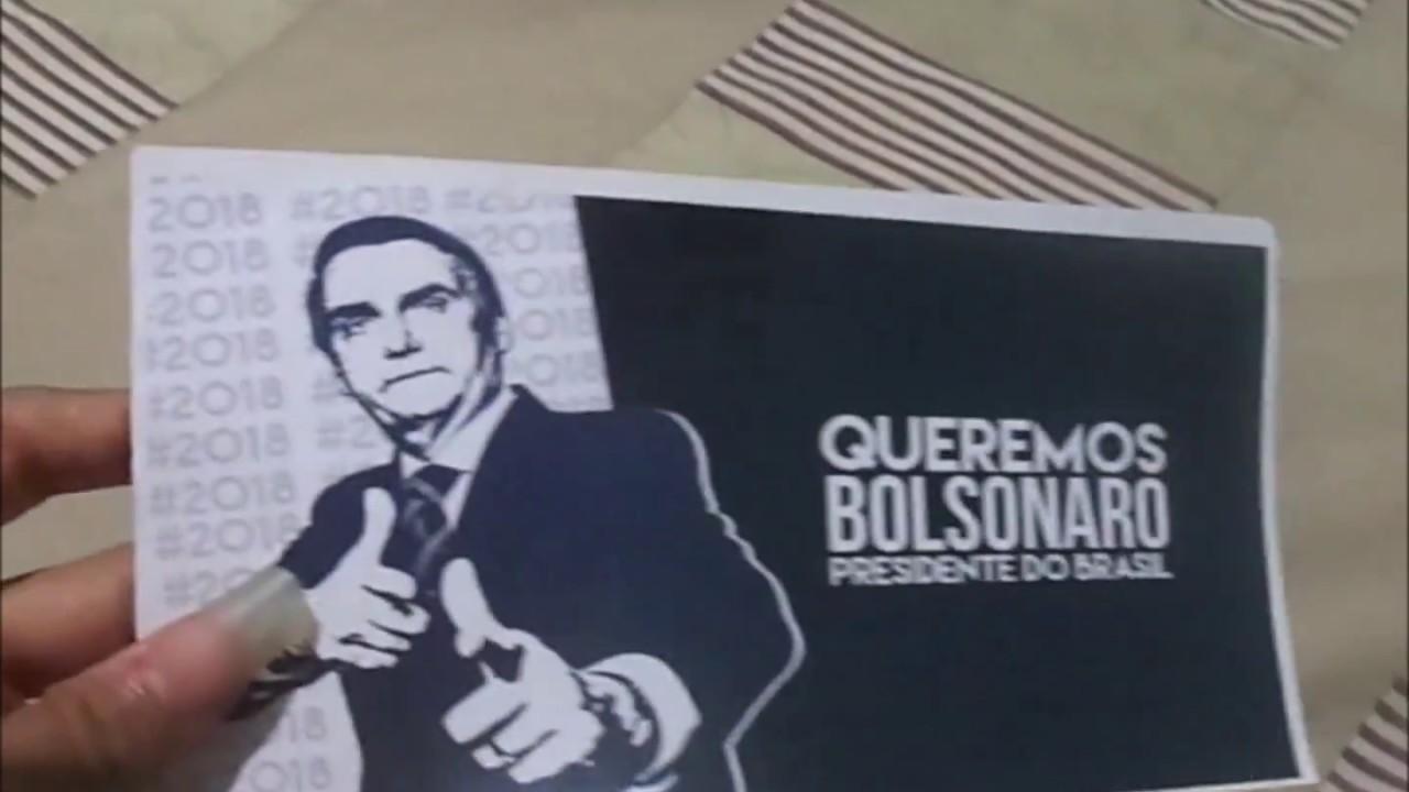 Adesivo Bolsonaro Presidente P/ Carro E Parede