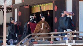 Naruhito realiza su primer ritual como emperador de Japón