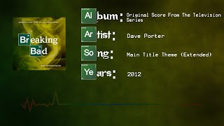 Dave Porter - Breaking Bad: Main Title Theme (Extended)