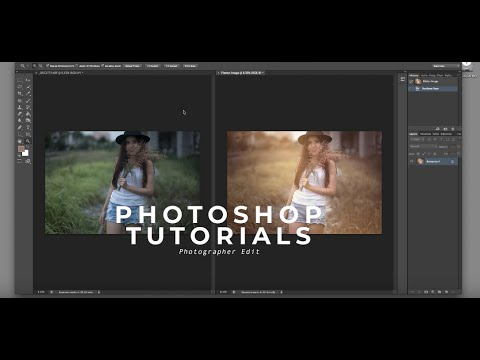 PHOTOSHOP TUTORIALS 1 WARM TONE