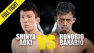 Shinya Aoki vs. Honorio Banario | ONE Full Fight | October 2019
