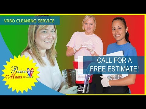 Vacation Rental Cleaning by Pristine Maids 850-424-1931