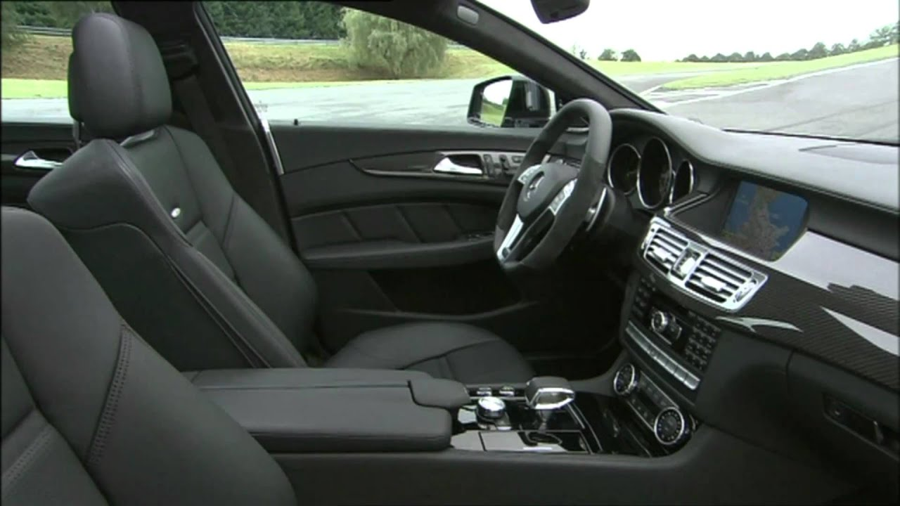 2012 Mercedes Benz Cls63 Amg Interior Youtube