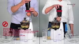Mẹo sử dụng máy ép trái cây tốc độ chậm hiệu Kuvings bởi Amazon Mạnh Đức