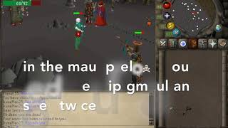 How to gmaul Preload spec -OSRS