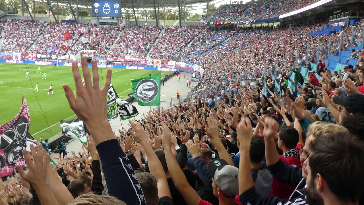 RB Leipzig - Hannover 96 | Shalalalalalalala - YouTube