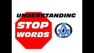 Understanding Stop Words Search Engine Optimization Google Bing Yahoo