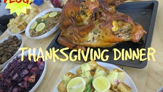 Vlog: Thanksgiving Dinner /elitaloina21