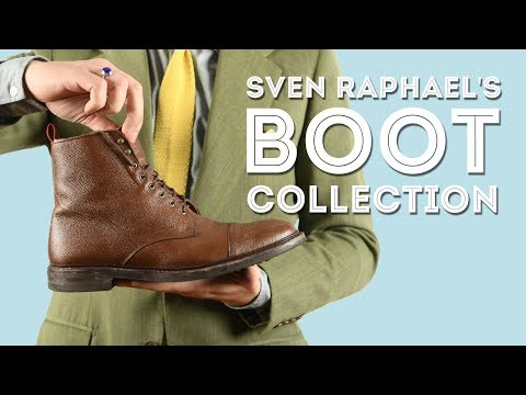 My Men's Boot Collection - Boots of Sven Raphael Schneider Gentleman's Gazette